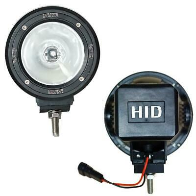 PAIR 4inch 100w HID Driving Lights XENON Spot Offroad Work Lamp 4WD Truck 12V