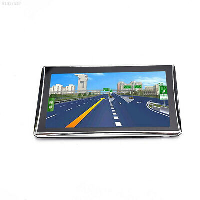 "C2AC Car GPS 7"" Touch Portable Map Navigator Entertainment With Back Support"
