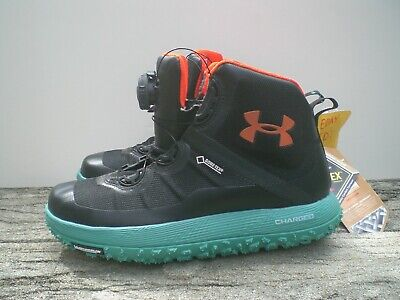 promo code e83a6 6b2e2 UNDER ARMOUR FAT Tire Gore Tex Boa Black Hiking Men's Boots - SZ 8.5
