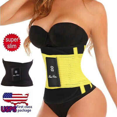 9c6773414a88b Corset Waist Training Sport Fitness Tummy Trimmer Belt Sweat HOT Fat Burn  Shaper