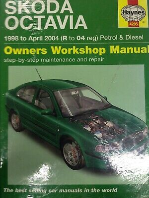 Haynes Repair Manual H5549 Skoda Octavia Diesel May 2004 to 2012