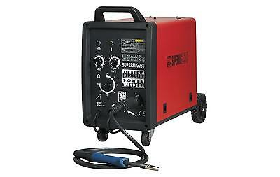 Sealey Supermig230 Professional MIG Welder 230 Amp Binzel® Euro Torch Box GradeA
