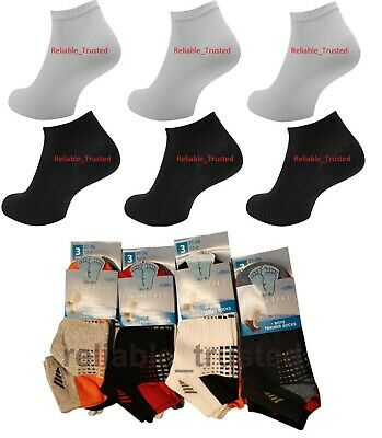 3/6/12 X Kids Trainer Socks Unisex Boys Girls Invisible Ankle Cotton Footwear