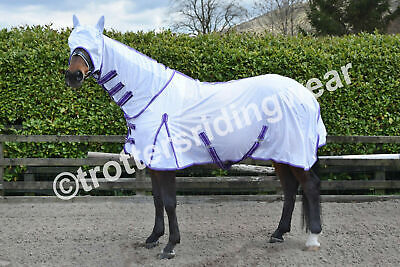 HORSE FLY RUG/SHEET FULL NECK + FREE FLY MASK PONY, COB & FULL SIZES in stock