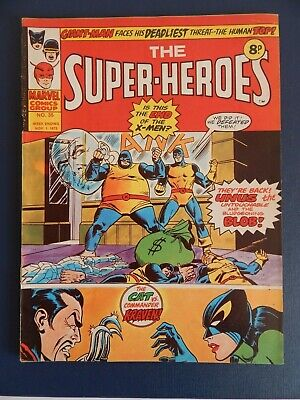 Bronze Age Marvel - The Super-Heroes  # 35 (1975)