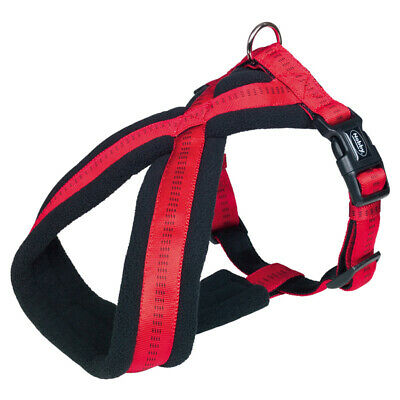 Nobby Comfort Pettorina Cani Soft Grip Rosso, Varie Taglie, Nuovo