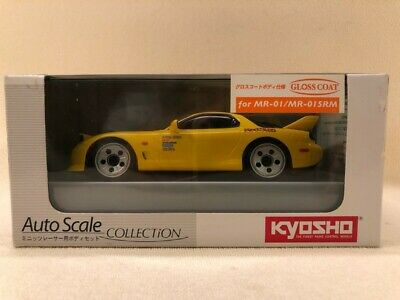 Kyosho MINI-Z 1/27 Initial D Limited Auto scale MR 01 015 RM RX 7 FD 3S