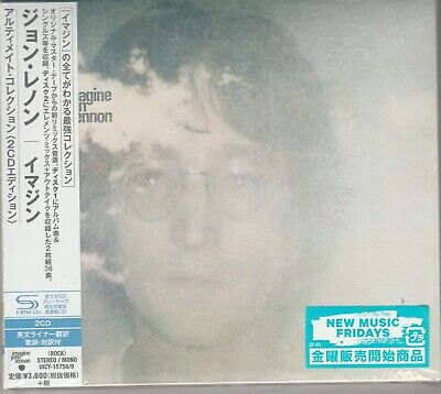 John Lennon Imagine The Ultimate Collection Japan Import 2 X SHM-CD New Sealed
