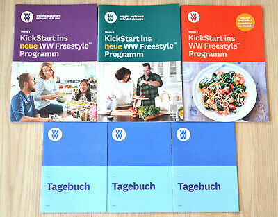 Weight Watchers StarterSet Kickstart Woche 1 + 2 Freestyle NEUE SmartPoints 2019