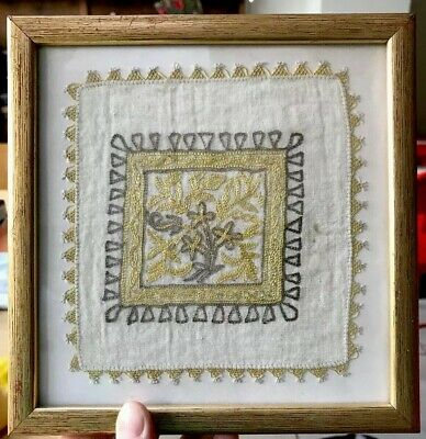 Antique Turkish (?) Embroidered Sample No.2 of 2