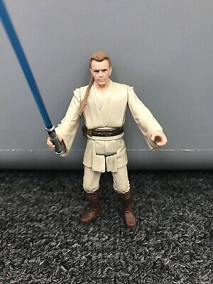 Star Wars Movie Heroes Series Obi-Wan Kenobi Duel on Naboo Figure 2012 Hasbro