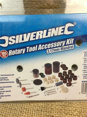 Clearance 349758 Dremel Type Rotary Tool Accessory Kit Sanding Polishing Grind