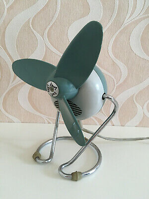 60er 70er Ventilator Tischventilator Lesa Space Age Made In Italy Vintage 60s