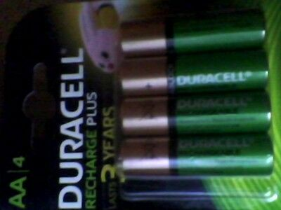 8 x Duracell AA 1300 mAh PRE/ STAY CHARGE Rechargeable Batteries new sealed