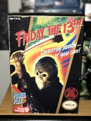 """NECA Friday The 13th Power Play Series NES Jason Gamestop Exclusive 7"""" IN HAND"""