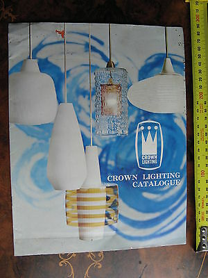 Crown Lighting  CATALOGUE 1960s