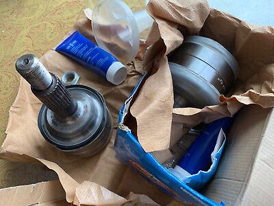 Pair of Genuine Löbro (Germany) 251 407 311 front outer CV joint for VW Syncro