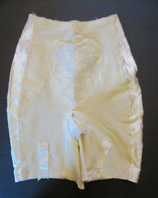 Vintage Long Leg Girdle With 6 Garters Size Small