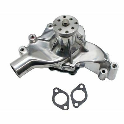 For Bb Chevy High Flow Chrome Aluminum Long Water Pump Bbc 396 402 427 454