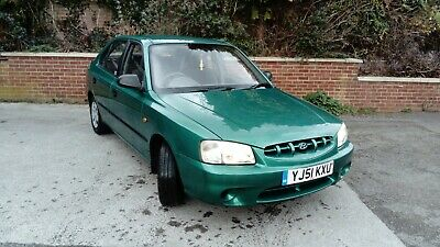 Hyundai Accent 1.3 Gsi 2002 82000 m Mot til end of My 2019