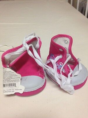 teddy mountain bear shoes 16in pink