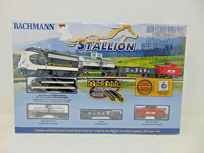 Bachmann Industries The Stallion Ready To Run Electric Train Set N Scale 24025