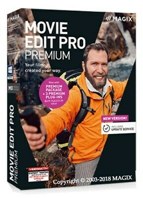 MAGIX Movie Edit Pro 2019 Premium + Content | Windows. Instant Download