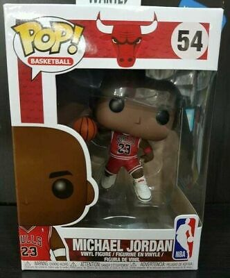 Funko Pop Michael Jordan 54 Basketball Chicago Bulls Nba Sports