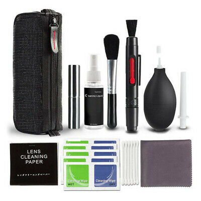 10 in 1 Professional Lens Cleaning Cleaner kit for Canon Nikon Sony DSLR Cameras