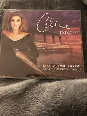 """Celine Dion  """"My Heart Will Go On"""" (Love Theme From """"Titanic"""") CD Single"""