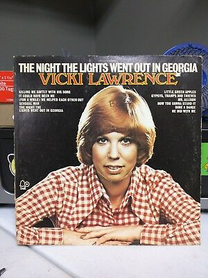 Vicki Lawrence The Night The Lights Went Out In Georgia - Bell 1120 - LP Vinyl