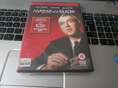 Anatomy Of A Murder [DVD] James Stewart (Actor), Lee Remick New