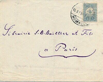 Iraq, Ottoman Cover From Moussoul To Paris France. #l966