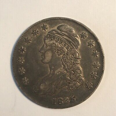 1835 Capped Bust Silver Half Dollar