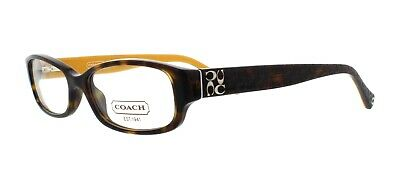 0d8449259c New COACH Frames Acetate Dark Olive Women RX Eyeglasses HC 6008 5030 53-17-