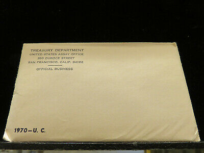 1970 P and D US Mint Uncirculated Set Sealed J017