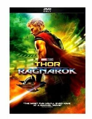 THOR: RAGNAROK (DVD, 2018) PRE-OWNED! FREE SHIP!  Action, Comedy, S/Fiction