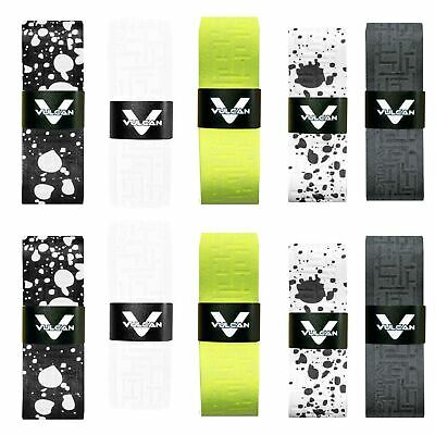 Vulcan Tennis Racket Overgrip Grip Tape (10-Pack) Variety Packs Racquet Repla...