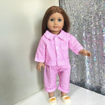 American Girl Our Generation Journey Girls 18 inch Doll Outfit Pajamas 3pc