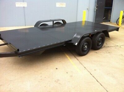 Brand New Car Carrier Trailer 15Ft Tandem Axle 2T Atm No Ramps Inc Aussie Made