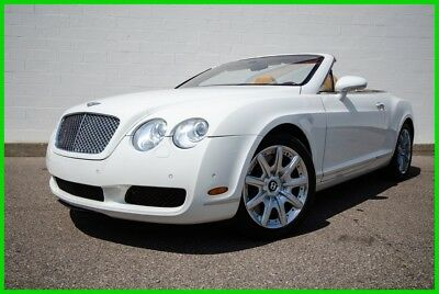 2008 Bentley Continental GT Mulliner Convertible - AWD Twin-Turbo - 12 Cylinder 2008 Bentley Continental GTC Convertible - Mulliner Spec Pkg - FAST TOPLESS FUN