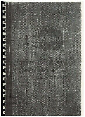 DL500 OPERATING MANUAL SA 930 CLASS covers SINGLE & DOUBLE ENDED LOCOMOTIVES