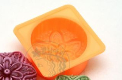 Luxury Flower No.6  Silicone soap Mould plaster Mold
