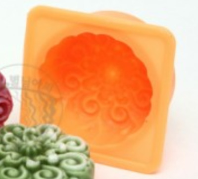 Luxury Flower No. 4 Silicone soap Mould plaster Mold