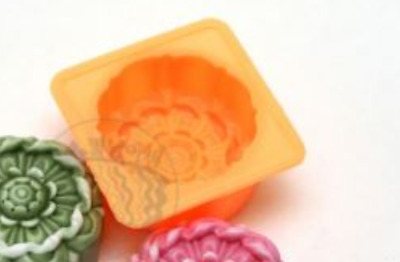 Luxury Flower No. 3 Silicone soap Mould plaster Mold