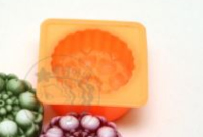 Luxury Flower No.2 Silicone soap Mould plaster Mold