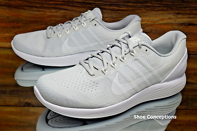 d59ebec93a994 Nike Lunarglide 9 Running Shoes Platinum White 904715-003 Men s Multi Size  NEW