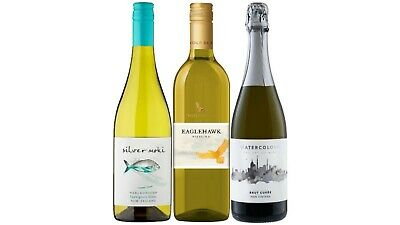 Mixed Brut Cuvée Riesling & Sauv Blanc Wine Pack 3x750mL FREE SHIPPING