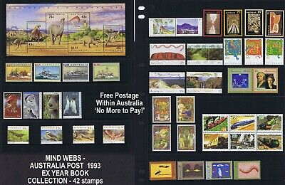 1993 Australian Post Year Collection (45 stamps) MNH !!-BUY ME AT THIS PRICE-!!