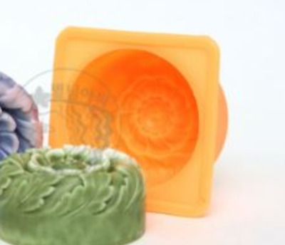 Luxury Flower No. 1 Silicone soap Mould plaster Mold